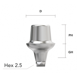 Simple Abutment (Hex)